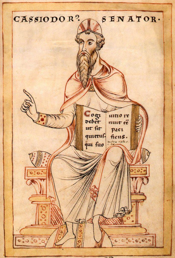 Cassiodorus portrait