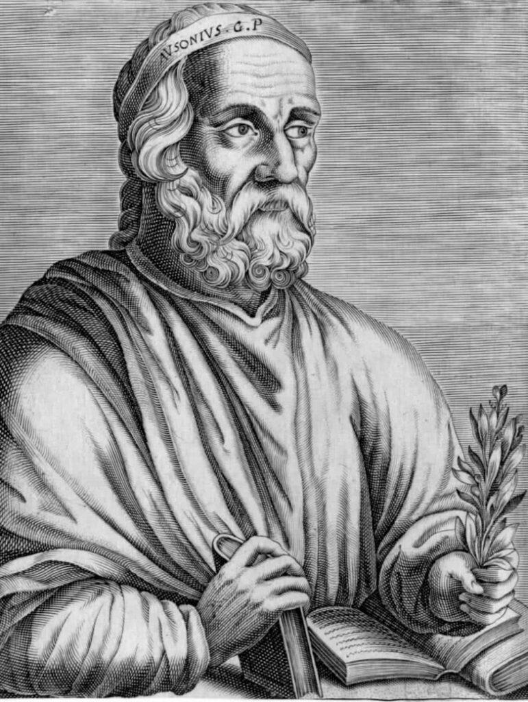 Decimus Magnus Ausonius. Photo curtesy of